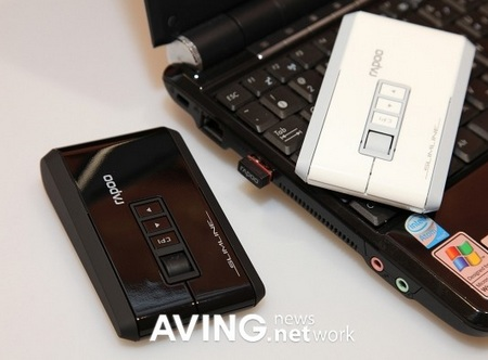 Royche RAPOO 3800 Wireless Flat Mouse