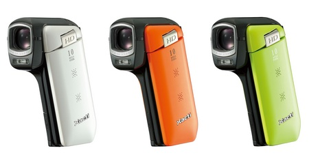 Sanyo Xacti DMX-CG11 720p HD Camcorder colors