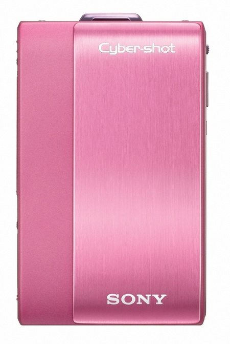 Sony Cyber-shot DSC-TX1 Slimline Digital Camera pink