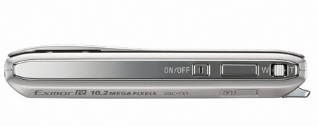 Sony Cyber-shot DSC-TX1 Slimline Digital Camera top