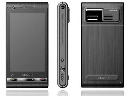 Sunno S880 Dual OS Smartphone