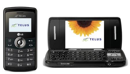Telus LG Keybo 2 CDMA QWERTY Phone black