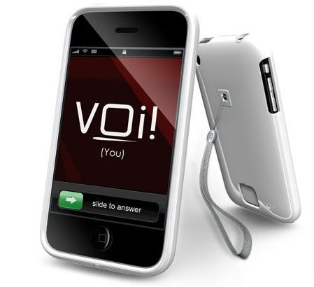 VOi! Lorem Hard-Shell Case for iPhone3G 3GS Phamtom Mist