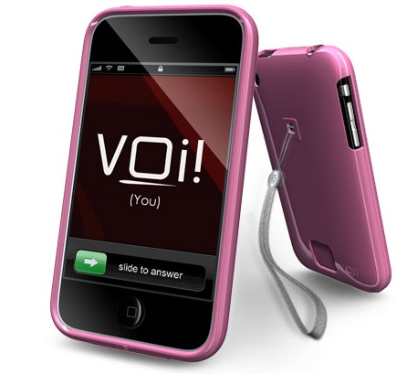 VOi! Lorem Hard-Shell Case for iPhone3G 3GS Sudden Blush