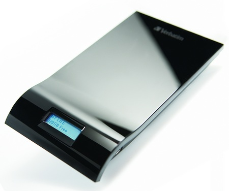 Verbatim InSight 500GB USB Hard Drive with Always On LCD