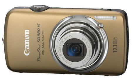 canon PowerShot SD980 IS Digital ELPH Camera gold
