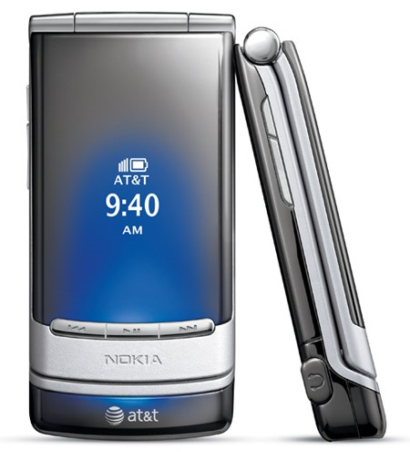 AT&T Nokia Mural Clamshell Blue