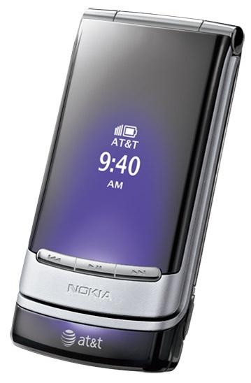 AT&T Nokia Mural Clamshell purple