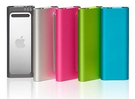 Apple iPod Shuffle 3G colors