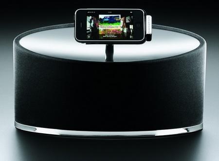 Bowers & Wilkins Zeppelin Mini iPod Speaker System arm
