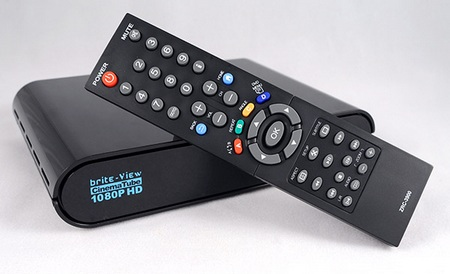 Brite-View CinemaTube 1080p HD Media Player with remote