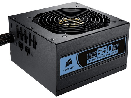 Corsair Professional HX650W modular power supply | iTech ...