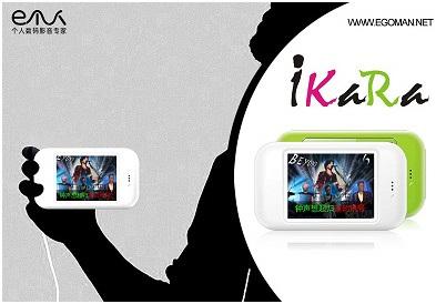 Egoman iKaRa i600 Karaoke PMP