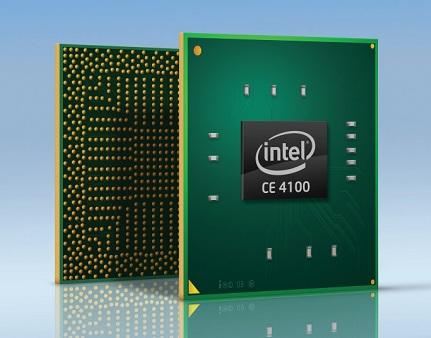 Intel Atom CE4100 System-on-Chip for Internet TV
