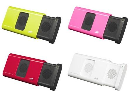 JVC-Victor SP-A130 Portable Sliding Speaker colors