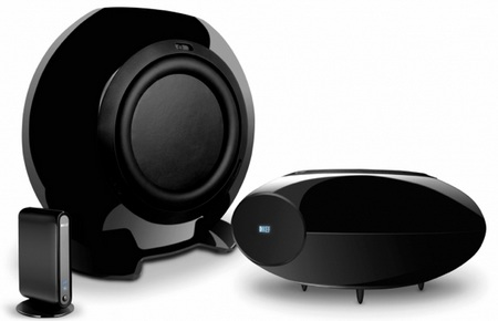 KEF HTB2SE-W wireless subwoofer