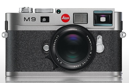 Leica M9 Full-Frame Digital Rangefinder Camera steel gray
