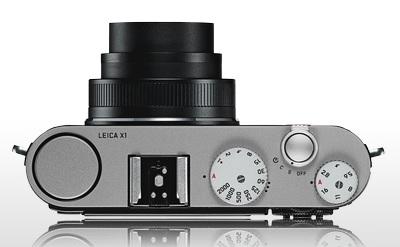 Leica X1 Compact Camera top