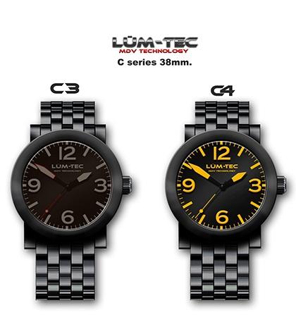 Lum-tec C series 38mm Automatic Watch c3 c4