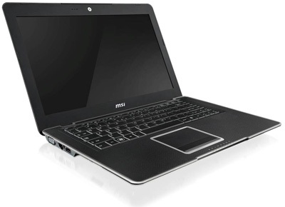 MSI X-Slim X410 Notebook with AMD Neo