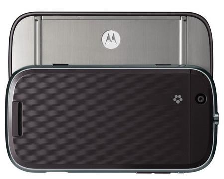 Motorola CLIQ Android Phone with MOTOBLUR back