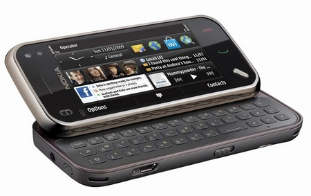 Nokia N97 mini QWERTY Phone
