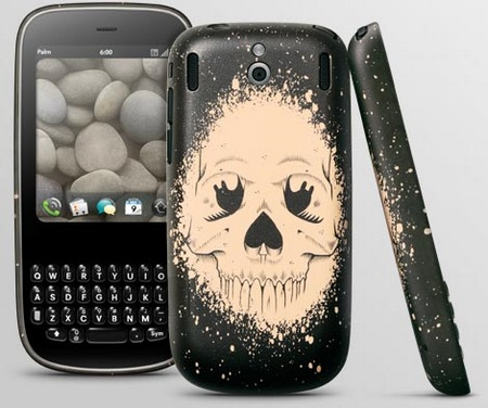 Palm Pixi Artist Series Back Cover Skull by Jeremy Fish