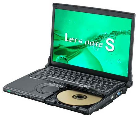Panasonic Let's Note CF-S8 ultra portable notebook