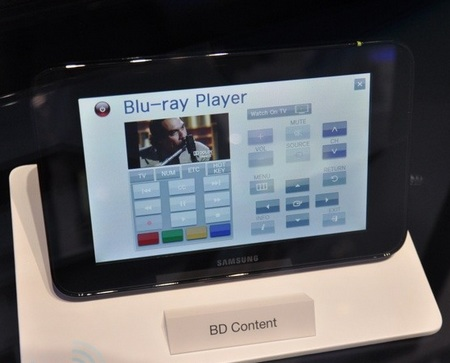 Samsung LED TV Couple Touchscreen tablet