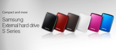 Samsung S3 Station and S2 Portable External Hard Drives