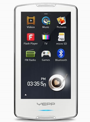 Samsung YP-M1 Beat Player with Tegra