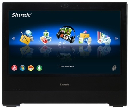 Shuttle X500V All-in-one PC runs Linux