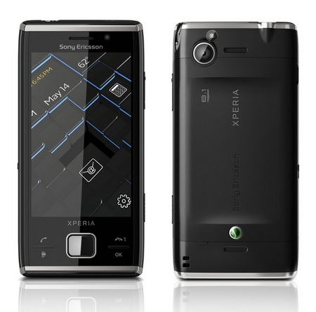 Sony Ericsson XPERIA X2 WM6.5 Smartphone front back