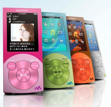 Sony NW-S740 and NW-S640 Walkman Media Players