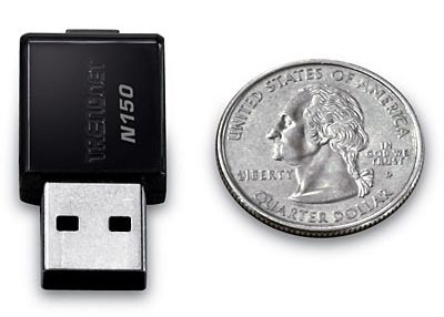 TRENDNet TEW-648UB Mini Wireless-N USB Adapter