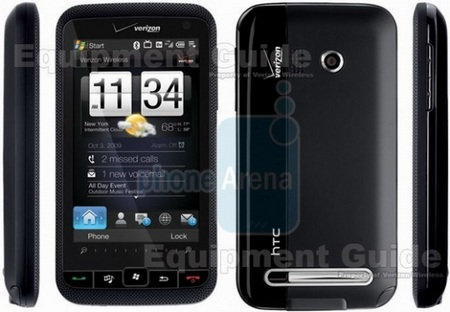 Verizon HTC Imagio XV6975 Leaked