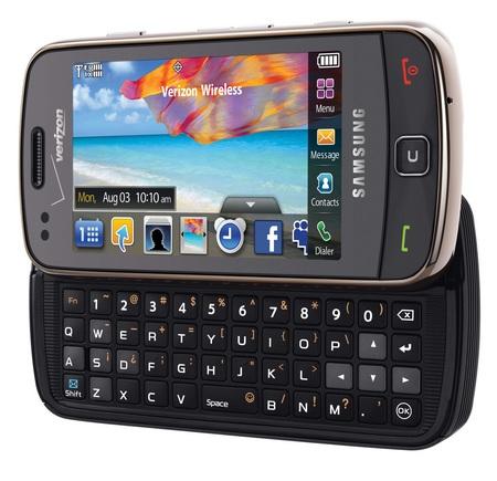 Verizon Samsung Rogue SCH-U960 angle