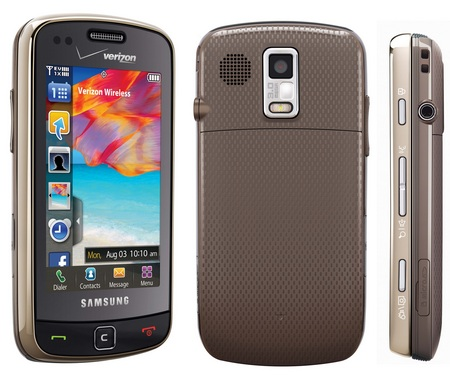 Verizon Samsung Rogue SCH-U960 front back sidejpg
