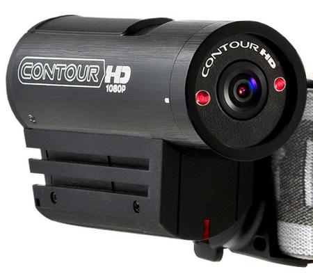 VholdR ContourHD1080p Full HD Helmet Camcorder