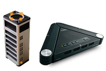 Yamaha SoundGadget PSG-01S and Projectphone PJP-25URS Skype Speakerphones