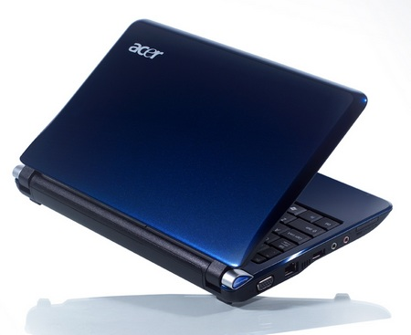 Acer Aspire One AOD250 Netbook Android lid