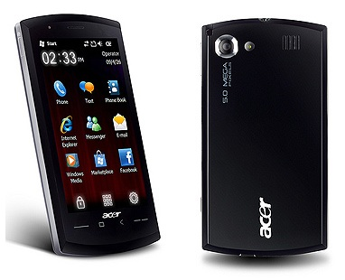 Acer neoTouch SnapDragon WM6.5 Smartphone