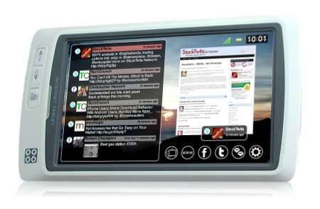 AdelaVoice Lighthouse SQ7 Social Media Tablet