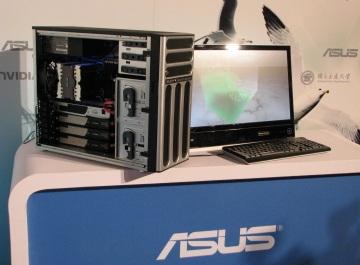 Asus ESC1000 1.1Teraflops Supercomputer powered by NVIDIA Tesla