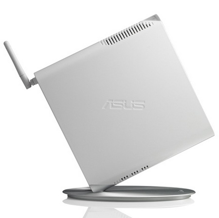 Asus Eee Box PC EB1501 Ion Nettop white side