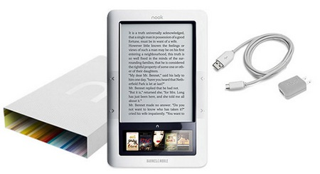 Barnes & Noble nook Wireless e-book reader 1