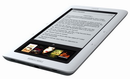 Barnes & Noble nook Wireless e-book reader