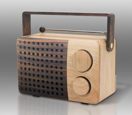 C.Crane Magno Wooden Radio