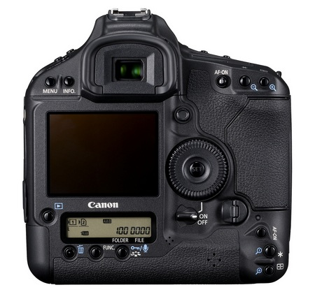Canon EOS-1D Mark IV Digital SLR Camera back