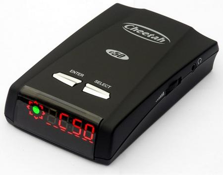 Cheetah C50 Speed, Red Light Camera Detector